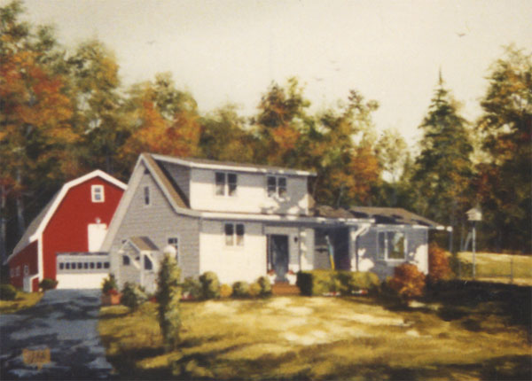 Painting of a home
