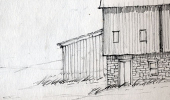 Sketch of a Barn
