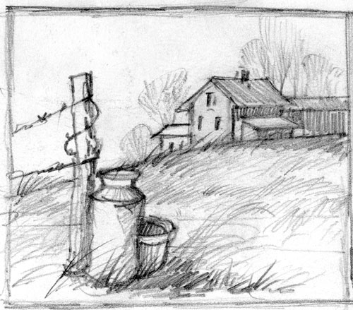 Sketch by Merrill Coffin