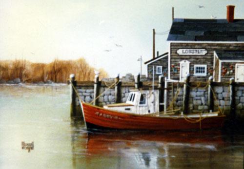 Merrill Coffin's Tabby B Painting