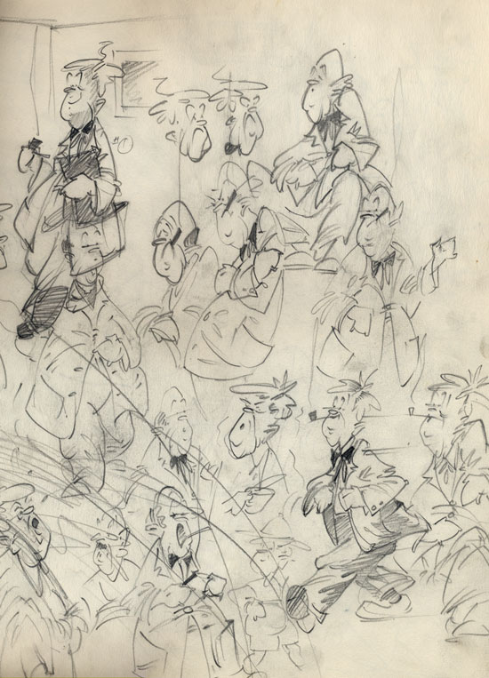 Merrill Coffin Cartoon Study