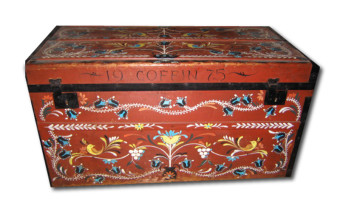 Decorated Toy Chest