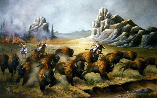 Buffalo Indians