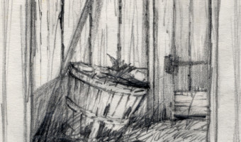 Basket and Corn Study