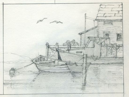 Sketch of the James C