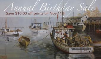 Annual Birthday Sale