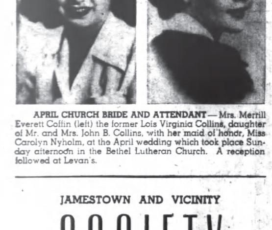 Coffin-Collins April Wedding