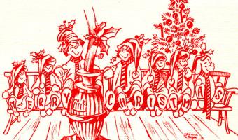 1967 Christmas Card