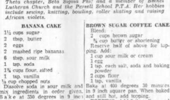 Sour Milk Recipes